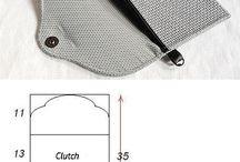 Сумки-клатчи / Идеи сумок клатчей для пошива