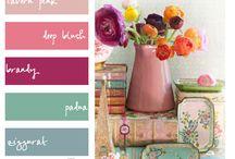 Colorspiration / Color Palettes I love / by Megan Scott