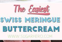 easiest Swiss butter cream ever
