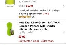 I like green / Green stuff