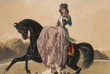 Painting Side Saddle