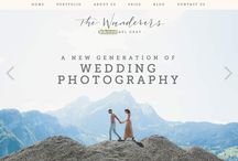 Photography Websites / Earthy Professional