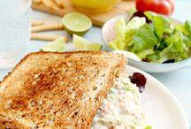 Sandwiches / Tuna&Salmon salad sandwich