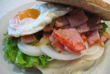 Bocadillos, Hamburguesas y Sandwich