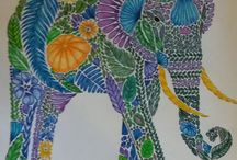 Adult Colouring Gallery