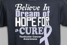 Testicular Cancer - April / Testicular Cancer Awareness Apparel and Walk Gear / by MyWalkGear