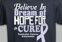 Testicular Cancer - April / Testicular Cancer Awareness Apparel and Walk Gear