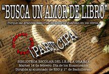 """""""Busca un amor de libro"""" / Concurso consistente en adivinar parejas literarias de enamorados a partir de imágenes alusivas"""