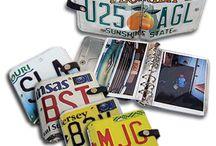 license plate crafts