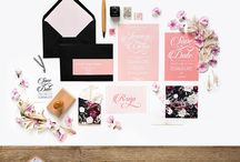 invitations fleuries
