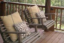 Garden Swing Bench