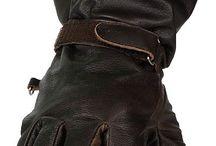 gloves men leather