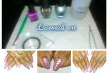 My nail art striping tape <3
