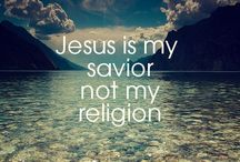 Jesus is my savior / by Sharon Lynch