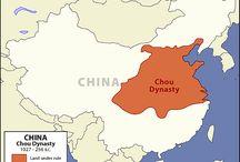 Civilización China/Zhou/Chou Dynasty / Cultura General (1027-256 BC) Ancient China  / by Mauricio Rebolledo