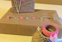 Creare un festone di bandierine per pacco regalo / Creare un festone di bandierine per pacco regalo Idea creativa per decorare un regalo.  #festone #mycandycountry #ideacreativa #compleanno  Seguimi su: www.mycandycountry.it