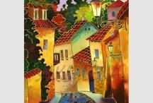 Batik / silk painting