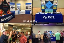 ZyXEL Trade Events / Pictures from ZyXEL's tradeshows, conferences and showcases