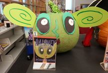 Halloween At the Library / Check out our first ever halloween display at the Headquarters branch!
