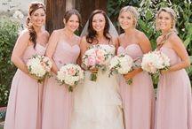 ** MARIAGE ROSE PALE ~ GRIS ** / #rose #gris #mariage