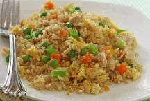 Recipes for Quinoa / So...I am not eating rice anymore, my new diet consists of eating healthy, and what healthier than quinoa? It has such a delicate nutty flavor that I loved it instantly.