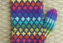Knitting - mittens, gloves