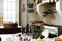 French country kitchen 'love'