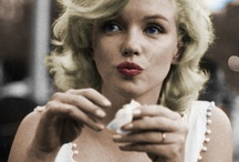 Marilyn Monroe / She's a beauty icon, love her! Don't care how others perceived her she was amazing.