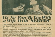 Feeling sick? Look at old adds. - new or old ways to heal - live - or die.