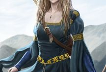 Archers women / Photos and drawings of inspiration