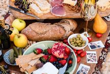 Picnic and Summer Party Time / The joys of outdoor eating and sharing lovely summer picnic and party food.