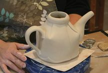 Handbuilt Teapots