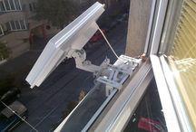 uchwyt antenowy okienny
