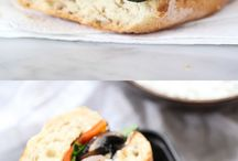 Vegetable Sandwiches