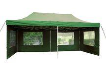 Záhradné stany / Záhradné stany vhodné pre párty - ako univerzálne prístrešky do záhrady a ako predajné stánky na trhy a podobne.