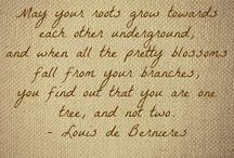 for the bride and groom / quotes for our friends' wedding