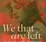 We That Are Left / 'We That Are Left' by Juliet Greenwood is a novel set around the First World War.  It will be published by Honno in February 2014.  www.honno.co.uk http://julietgreenwoodauthor.wordpress.com This board collects together films and images from the years before the war, the war itself and the years up to 1925, the time covered by the novel.