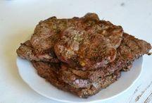 marinády na maso