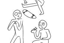 Drawing stuff / Ermahgerd  drawing