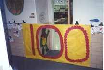 WALL DISPLAY - 100th Day / by Clutter-Free Classroom