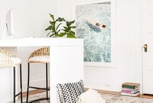 Office and Creative Spaces / by Amanda @ Our Storied Home