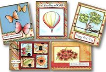 Cards / Cards created for classes & by our Designers / by allaboutscrapbooks