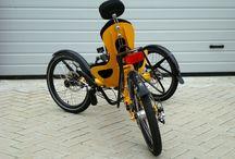 Bike trike recumbent