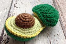 Play food / PDF Pattern crochet