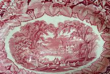 Pink Transfer Ware