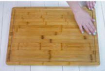 Clean cutting board