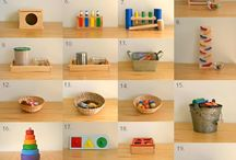 Montessori Like at Home / Montessori at Home, activities, games and inspiration