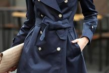 Trench coats / What can I say I like trench coats