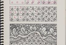 Zentangle mønster