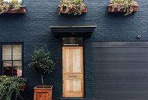 Portland Rd - Painted Brick